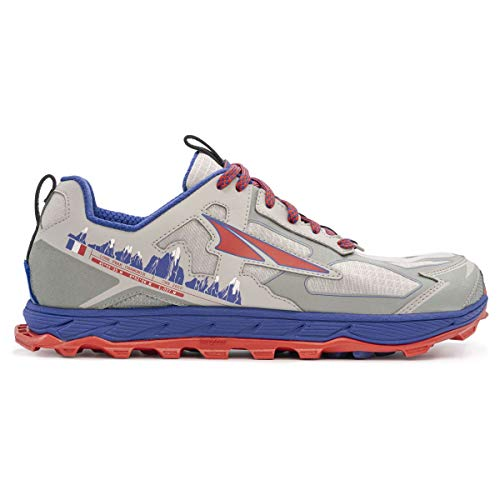 ALTRA Lone Peak 4.5 Chamonix – Zapatillas de trail para hombre, (Gray Blue), 46.5 EU