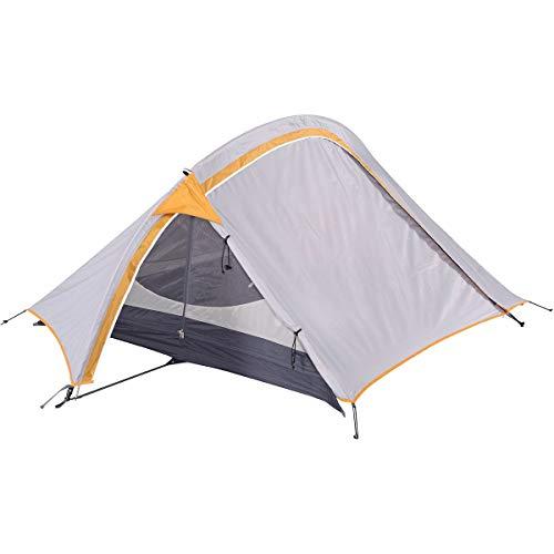 OZtrail Backpacker Wanderzelt OLT-BAC-D 2.2kg 230cmx160cm Großzügig gestaltetes 2-Personen-Zelt verfügt über EIN Nord-Süd Stangendesign und rechtwinklige Bodenfläche für optimalen Platz