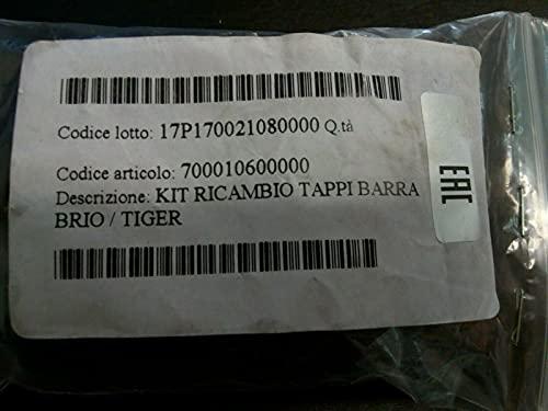 KIT 4 TAPPI PER BARRE MENABO MODELLO BRIO E TIGER