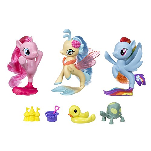 My Little Pony the Movie Seapony Collection Set (Amazon Exclusive)
