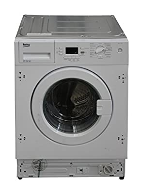 Beko WMI71641 A+ 7Kg 1600 Spin 16 Programmes Integrated Washing Machine in White