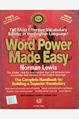 Word Power Made Easy The Complete Handbook for Building a Superior Vocabulary Book By Norman Lewis Paperback
