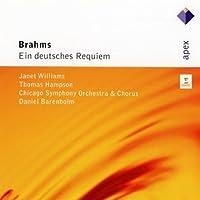 Ein Deutsches Requiem by BARENBOIM / CSO / WILLIAMS / HAMPSON (2011-03-29)