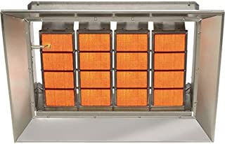 SunStar Heating Products Infrared Ceramic Heater - NG, 140,000 BTU, Model Number SG14-N