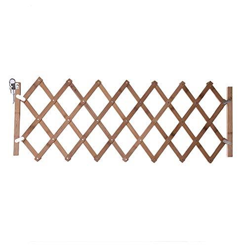 Jinclonder huisdierisolatiedeur-bretterhek intrekbare hekhonddeur, loopstal geschikt voor deur, muur, trap, slaapkamer, eetkamer