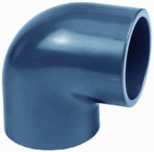 PVC Winkel 10 Stück 90°, 32mm, 2X Klebemuffe (10) (Preis pro Stück 0,80€)