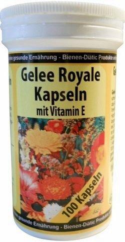 Gelee Royale Kapseln mit Vitamin E, 100 Stück