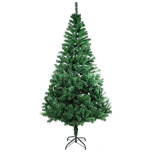 XmasExp 6 FT Artificial Christmas Pine Tree Easy Assembly with Foldable Solid...