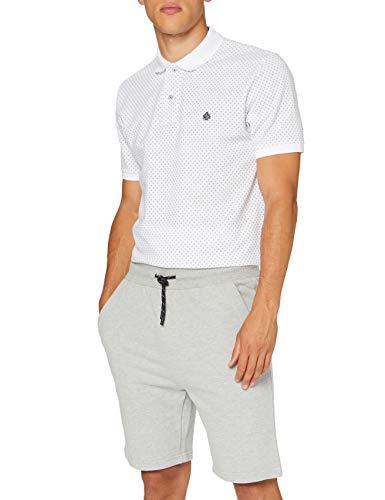 Springfield 3Fr Bermuda Terry 320 gsm Melange-C/43 Camiseta, Gris (Dark_Grey 43), XXL (Tamaño del Fabricante: XXL) para Hombre