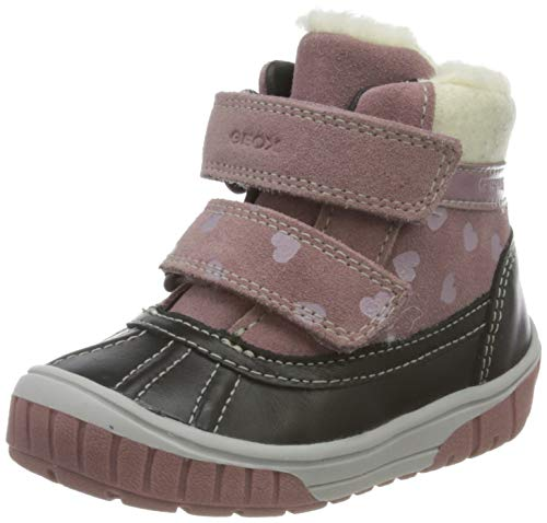 Geox Baby-Mädchen B OMAR Girl WPF A Ankle Boot, Pink (Rose Smoke), 22 EU