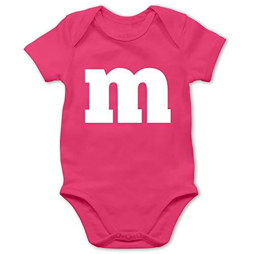Shirtracer Karneval und Fasching Baby - Gruppen-Kostüm m Aufdruck - 12/18 Monate - Fuchsia - Karneval kostüm Gruppe - BZ10 - Baby Body Kurzarm für Jungen und Mädchen