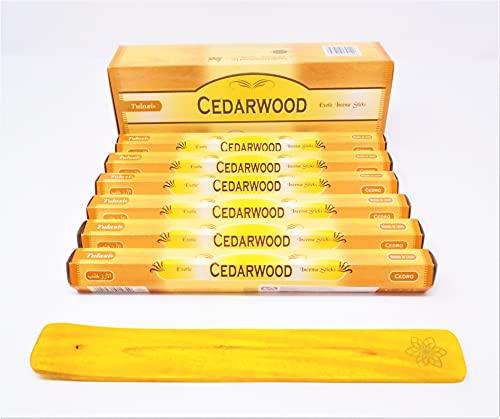 varitas de Incienso de (Cedar Wood Pine) Madera Cedro … Bosque de pinos varitas de Incienso Joss...