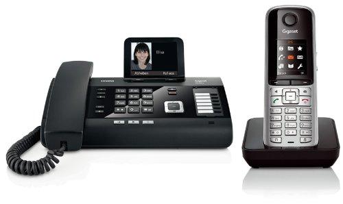 Siemens Gigaset DL500A SET mit 1x S79H Mobilteil – analog, Anrufbeantworter, Bluetooth® ECO DECT, schwarz