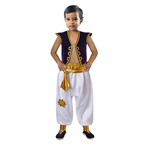 INGSIST Traje de Traje de Disfraces de India para niño