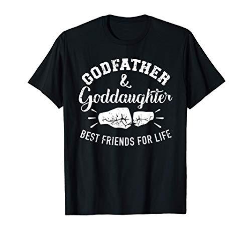 Padrino y ahijada amigos de por vida Camiseta