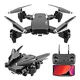 ZAKRLYB Drone per fotocamera aerea, drone pieghevole HD 4K, doppia fotocamere, lunga durata della...