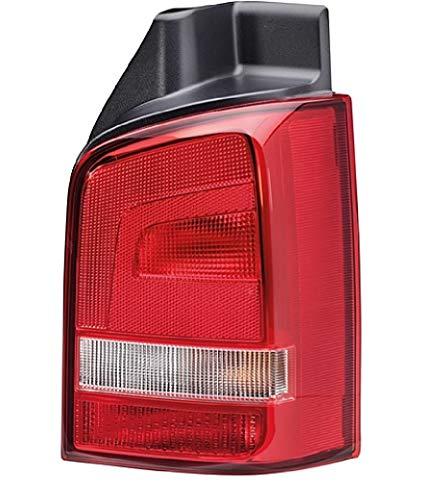 HELLA 2SK 010 318-081 Heckleuchte - Glühlampe - glasklar/rot - rechts - für u.a. VW T5 (7Hb,7Hj,7Eb,7Ej,7Ef,7Eg,7Hf,7Ec)