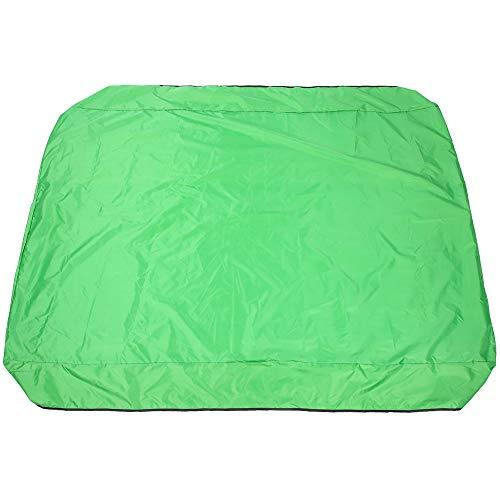 chengong Staubdicht 191X120cm wasserdicht Blockieren Sie effektiv UV-UV-Schäden Schaukelabdeckung Zubehör, Außenschaukelabdeckung, Gartenbalkone Home