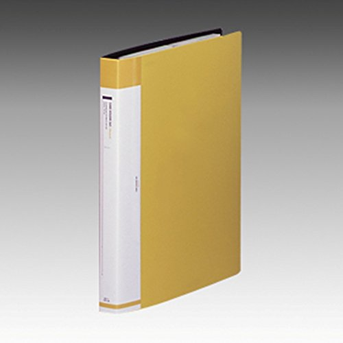 リヒトラブ 名刺ファイル 交換式 A4 30穴 360枚 黄 G8812-5