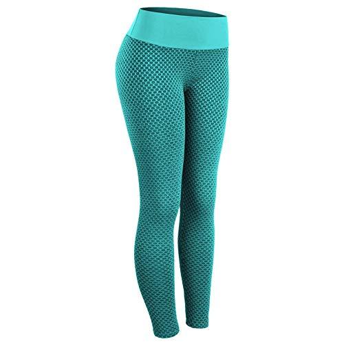 fuxiste TIKTok Leggings, pantalones de yoga de cintura alta, leggings de levantamiento de glúteos para mujer, entrenamiento, correr, levantamiento de glúteos