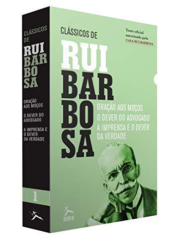 Os Clássicos de Rui Barbosa - Caixa com 3 Volumes
