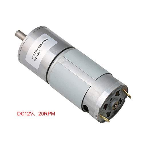 12V DC 20RPM Torque Getriebe Motor Drehzahlregelung Elektromotor für Modellbau Getriebemotor