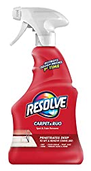 Resolve Carpet Spot & Stain Remover-22 Ounce Spray Bottle Review