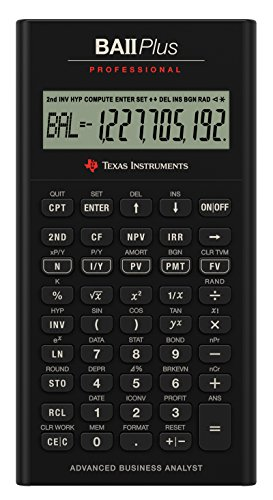 Scopri offerta per Texas Instruments BA II Plus Professional Calcolatrice