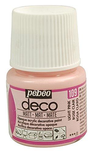 Pébéo Deco Peinture 45 ml Mat Rose Clair 204109