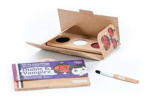 NAMAKI - Kit de maquillaje para niños - 3 colores para la...