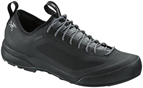 Arc'Teryx Acrux SL Leather GTX Zustiegsschuhe Herren Black/Shark Schuhgröße UK 10 | EU 44 2/3 2019
