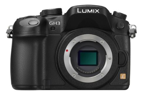 Panasonic Lumix DMC-GH3K 16.05 MP Digital Single Lens Mirrorless Digital Camera with 3-Inch OLED - Body Only (Black)