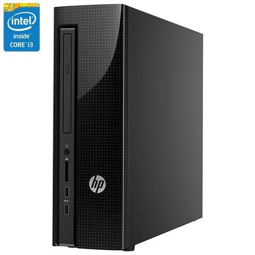 2019 HP High Performance Slim Desktop PC, Intel Core i3-7100 Processor 8GB DDR4 RAM 1TB 7200RPM HDD DVD WiFi HDMI VGA Keyboard + Mouse Windows 10