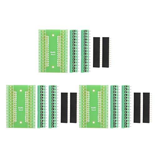 DAUERHAFT Adaptador de Terminal de Tornillo Adaptador de expansión de Terminal de Placa de expansión Kit de Bricolaje para terminales de interconexión Arduino Uno R3