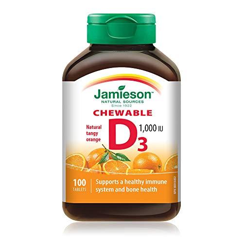 Jamieson Vitamina D3 Masticabile 100 Cpr Arancia - 70 Gr