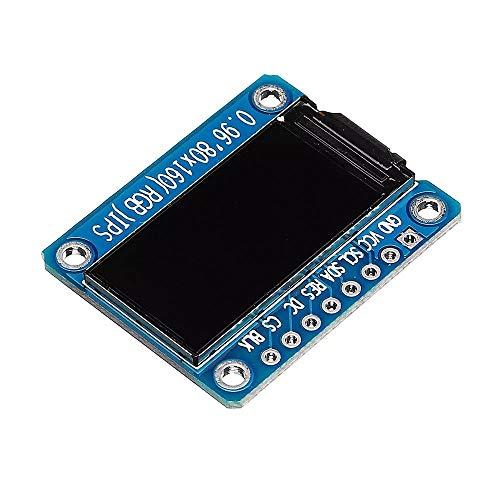 『AiHua Huang LDTR-DM33 0.96インチ7PIN HD色のIPS画面TFT LCDディスプレイSPI ST7735モジュール』の4枚目の画像