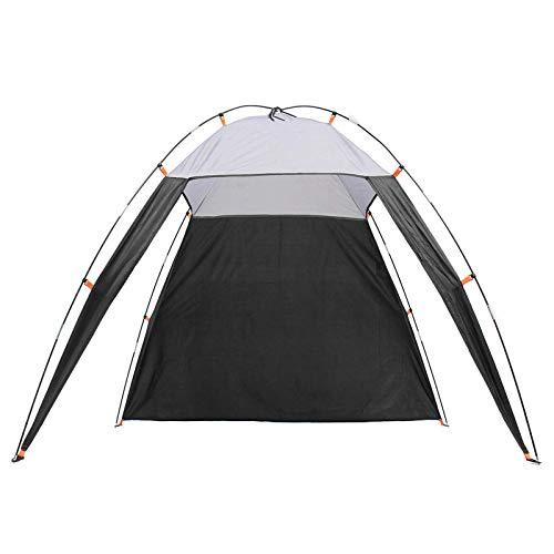 Tienda de campaña 5-8 personas al aire libre playa triángulo tienda impermeable Sun Shade Canopy refugio camping senderismo tienda de vacaciones