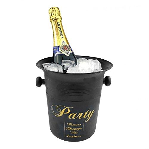 Flaschenkühler - Sektkühler - Weinkühler - Getränkekühler - Kühler für Wasser, Wein, Sekt, Champagner, Saft - Sektkübel - Eiskübel - Eiseimer