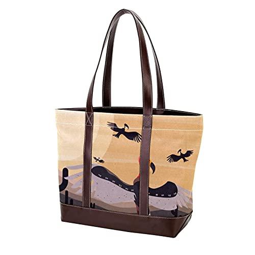 NaiiaN Handtaschen Tier Bussard Vogel für Mutter Frauen Mädchen Damen Student Leichtgewicht Gurt Einkaufstasche Geldbörse Shopping Umhängetaschen