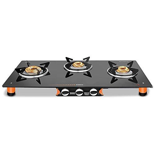 Vidiem Air Pride 3B 161 A Cooktop (Black/Orange)