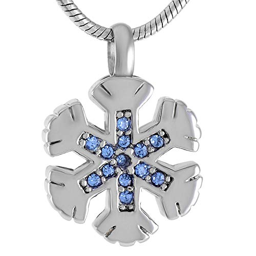 KXBY Urn crematie as hanger Keepsake as Urns kristal ingelegd hart ketting elegante meisje as roestvrij staal crematie juwelen-F