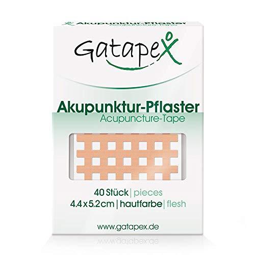 Gatapex Akupunktur-Pflaster (Größe L) 4,4 x 5,2cm Haut 40 Stück