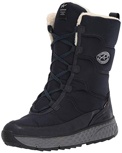 ALLROUNDER by MEPHISTO Women's Boots Snow Shoe, Blue, 6.5