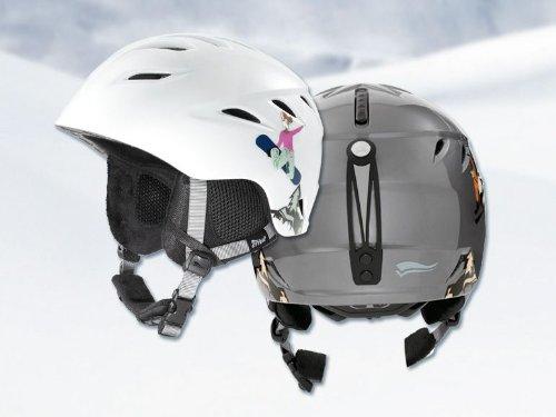 CRIVIT Junior Ski- und Snowboardhelm 53269 (weiß, XS (52-54 cm))