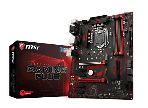 MSI Performance GAMING Intel 8th Gen LGA 1151 M.2 D-Sub DVI DP USB 3.0 Gigabit LAN CFX ATX...
