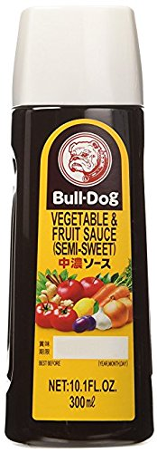 Bull-Dog - Vegetable & Fruit Sauce (Chuno) Sauce 10.1 Fl. Oz.