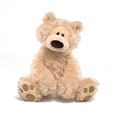 "GUND Philbin Teddy Bear Stuffed Animal Plush, Beige, 12"""