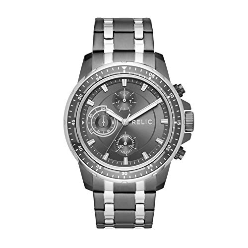 Relic by Fossil Men's Heath Stainless Steel quartz Watch (Model: ZR12553)