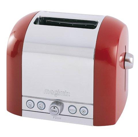 Magimix 11503 Toaster, 2 Scheiben, Rot