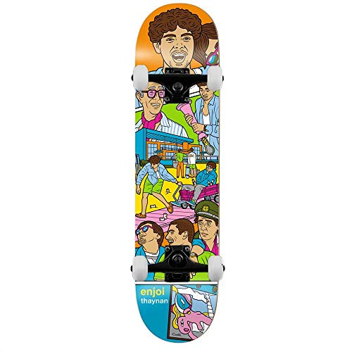 Enjoi Thaynan Weekend At Louies Costa Skateboard Completo Multi 21,6 cm